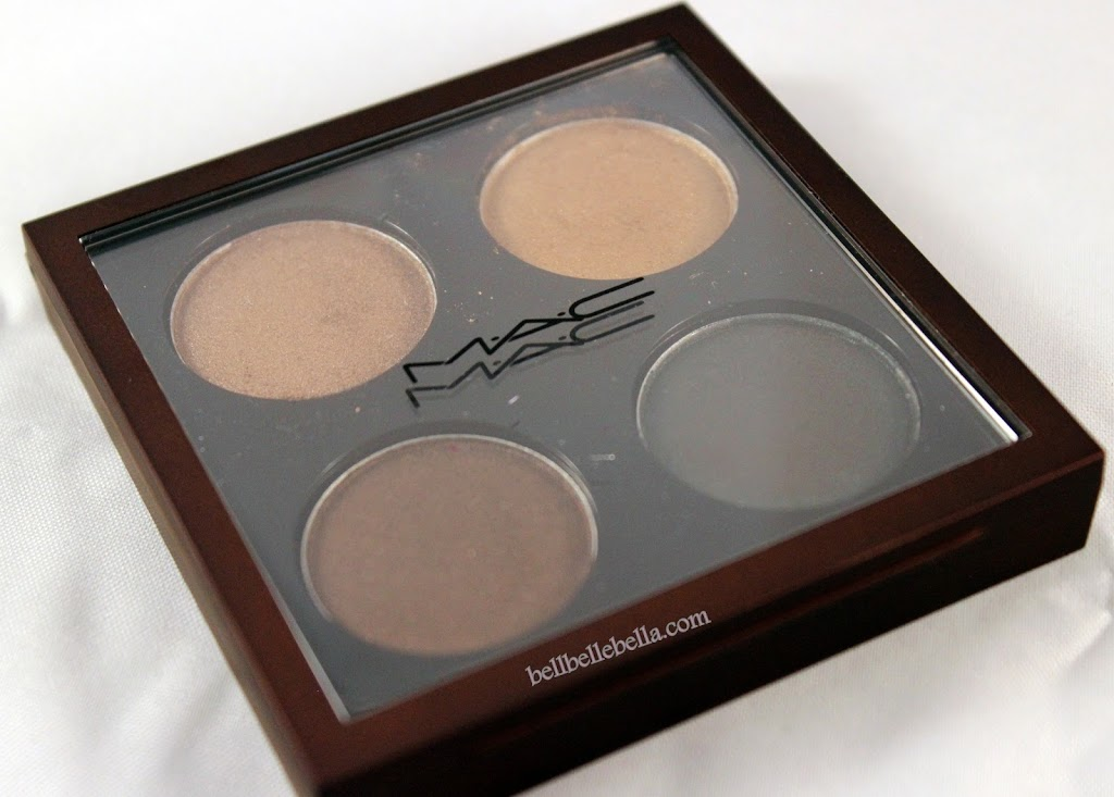 MAC Temperature Rising Bare My Soul Quad Swatches and Review graphic