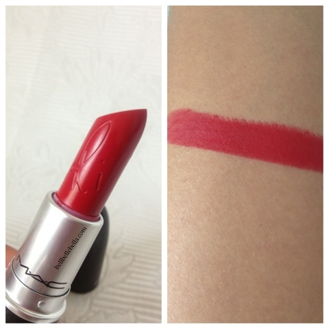 MAC Cosmetics RiRi Woo Review and Swatches graphic