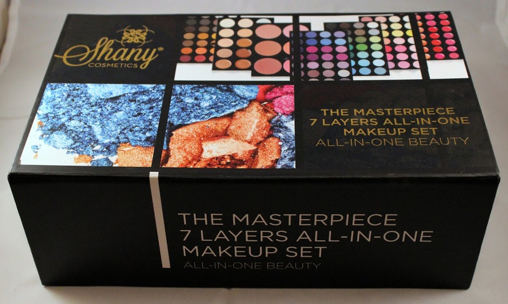 SHANY Cosmetics the Masterpiece 7 Layers All-In-One Makeup Set Review graphic