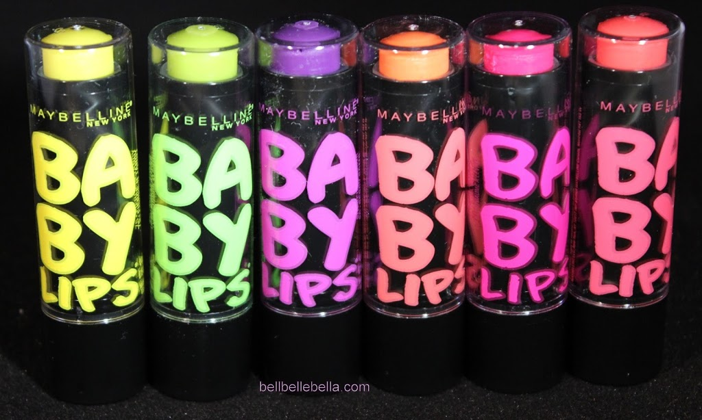 Maybelline Baby Lips Electro Lip Balm Review and Swatches ...