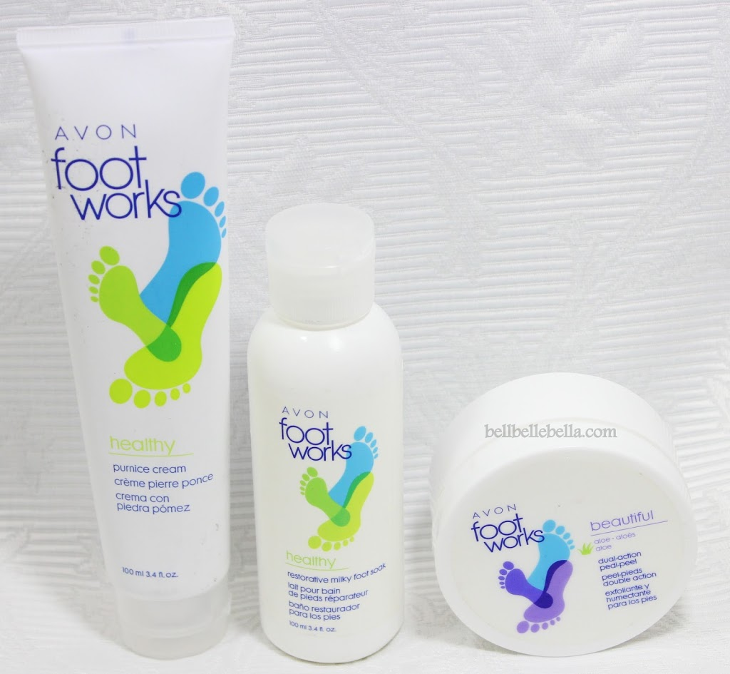 DIY Pedicures with Avon Foot Works graphic