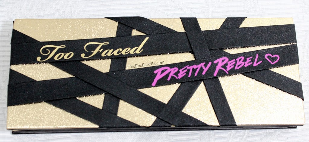 Too Faced Pretty Rebel Palette Review graphic