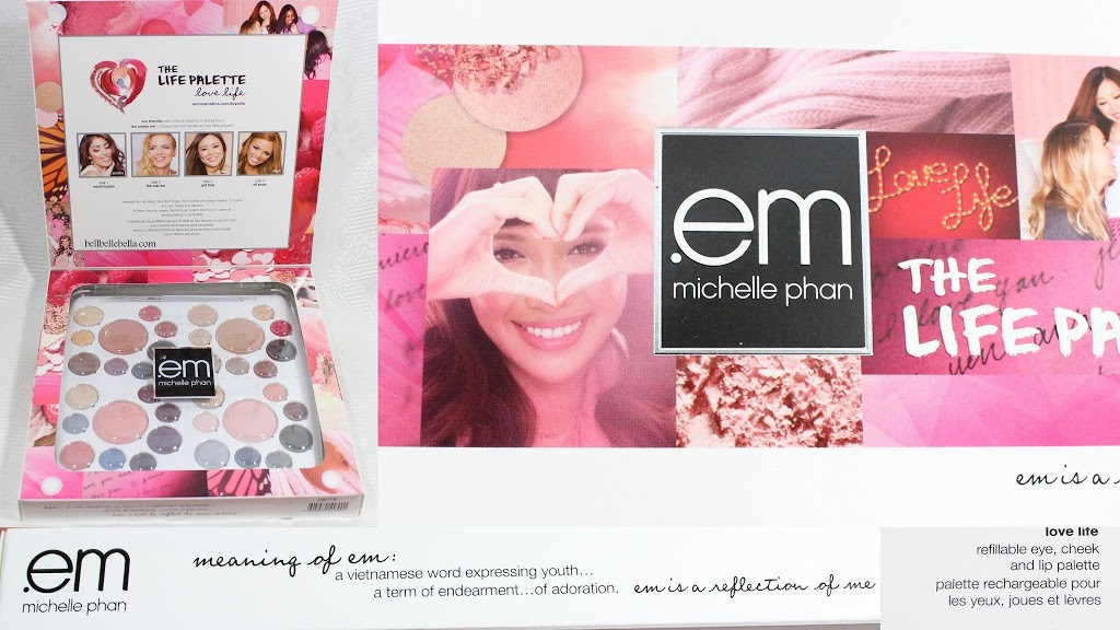 Em Michelle Phan Love Life Palette Review and Swatches graphic