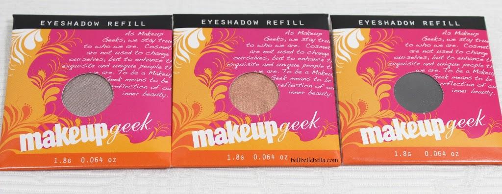 Makeup Geek Eyeshadows: Prom Night, Cosmopolitan, Corrupt graphic