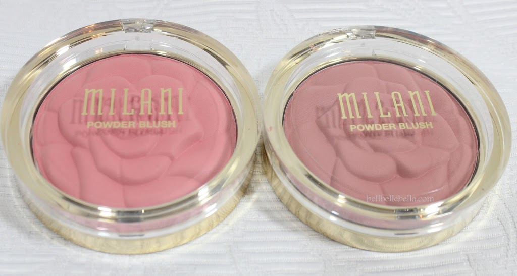 Milani Coming Up Roses Powder Blushes in Flora Passion and Romantic Rose graphic