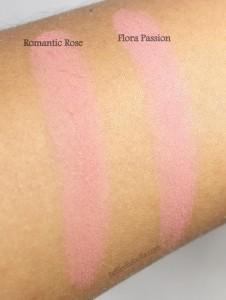 Milani Coming Up Roses Powder Blush Swatches