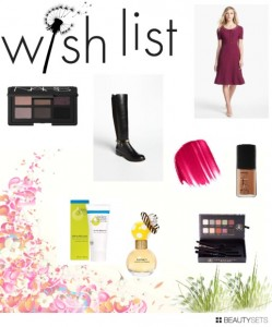September 2013 Wishlist: High End