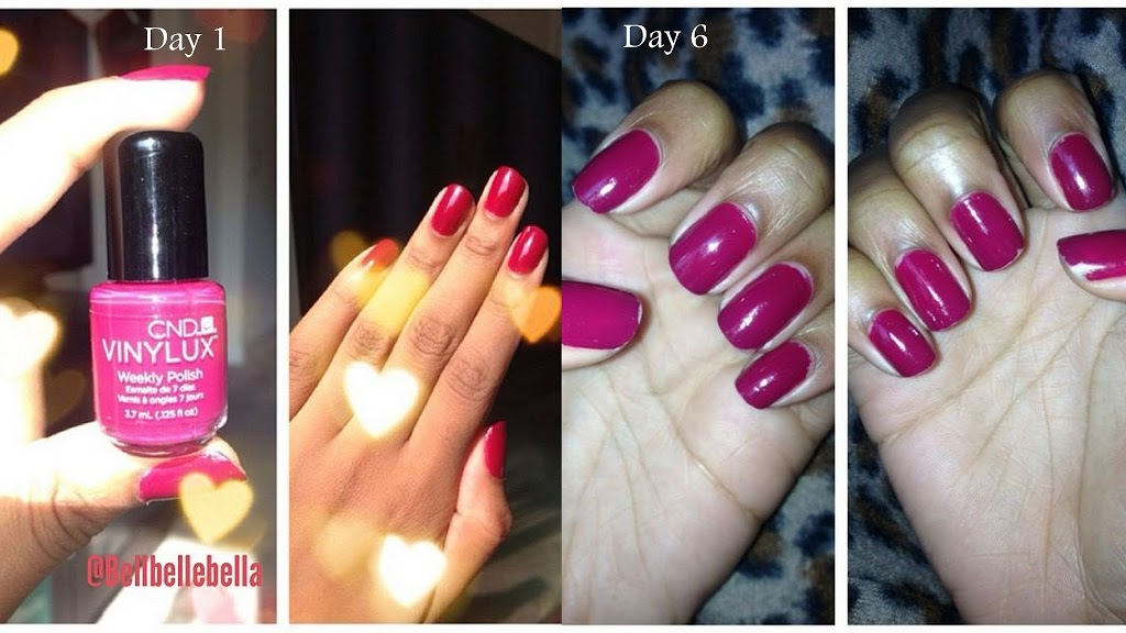 Vinylux Nail Polish Instructions