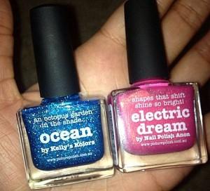piCture pOlish Ocean and Electric Dream