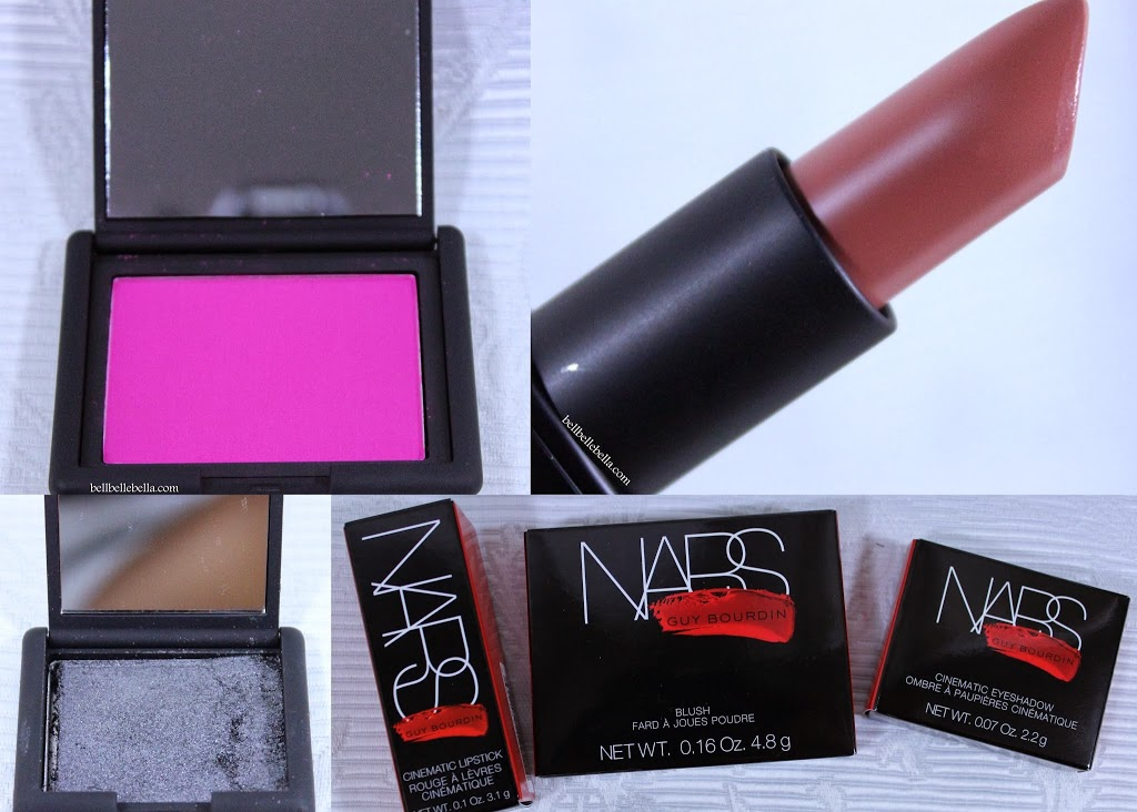 NARS Holiday 2013: Coeur Battant Blush, Last Tango Lipstick, Bad Behaviour Eyeshadow graphic
