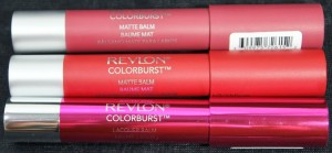 Revlon Colorburst Balms: Sultry, Standout, Whimsical