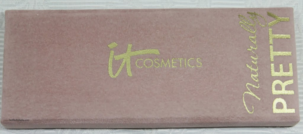 IT Cosmetics Naturally Pretty Vol. 1 Matte Luxe Transforming Eyeshadow Palette Review graphic