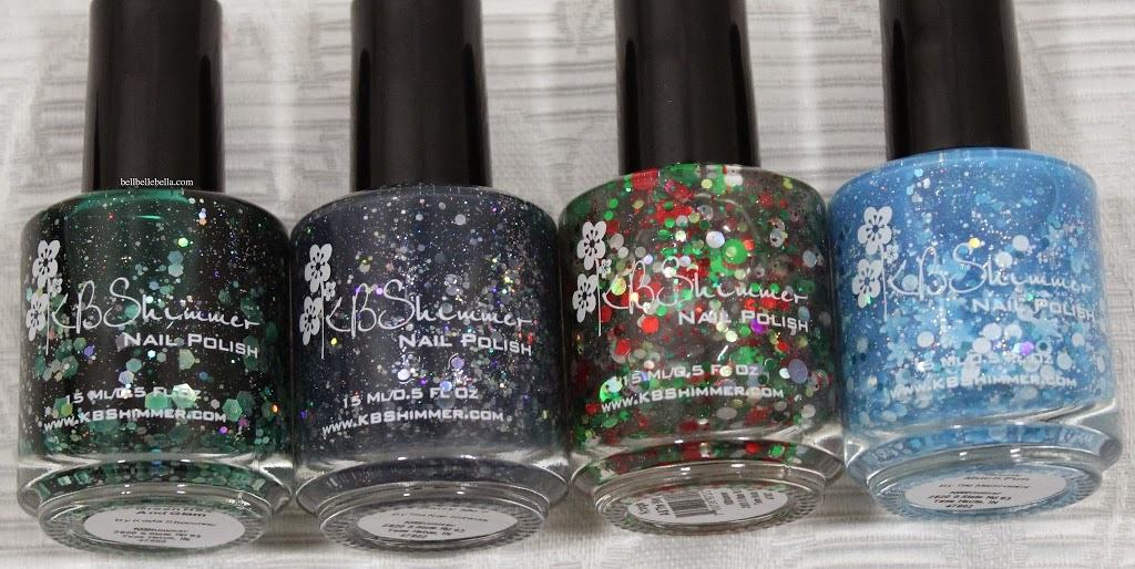 KB Shimmer Winter 2013 Nail Polishes graphic