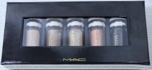 MAC Nocturals Pigments and Glitter: Black and Gold Set