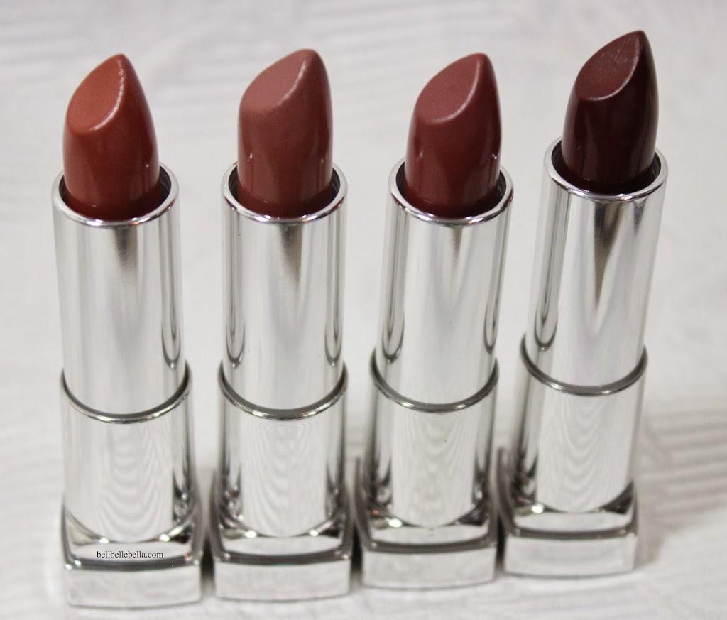 Maybelline Color Sensational The Buffs Lipsticks