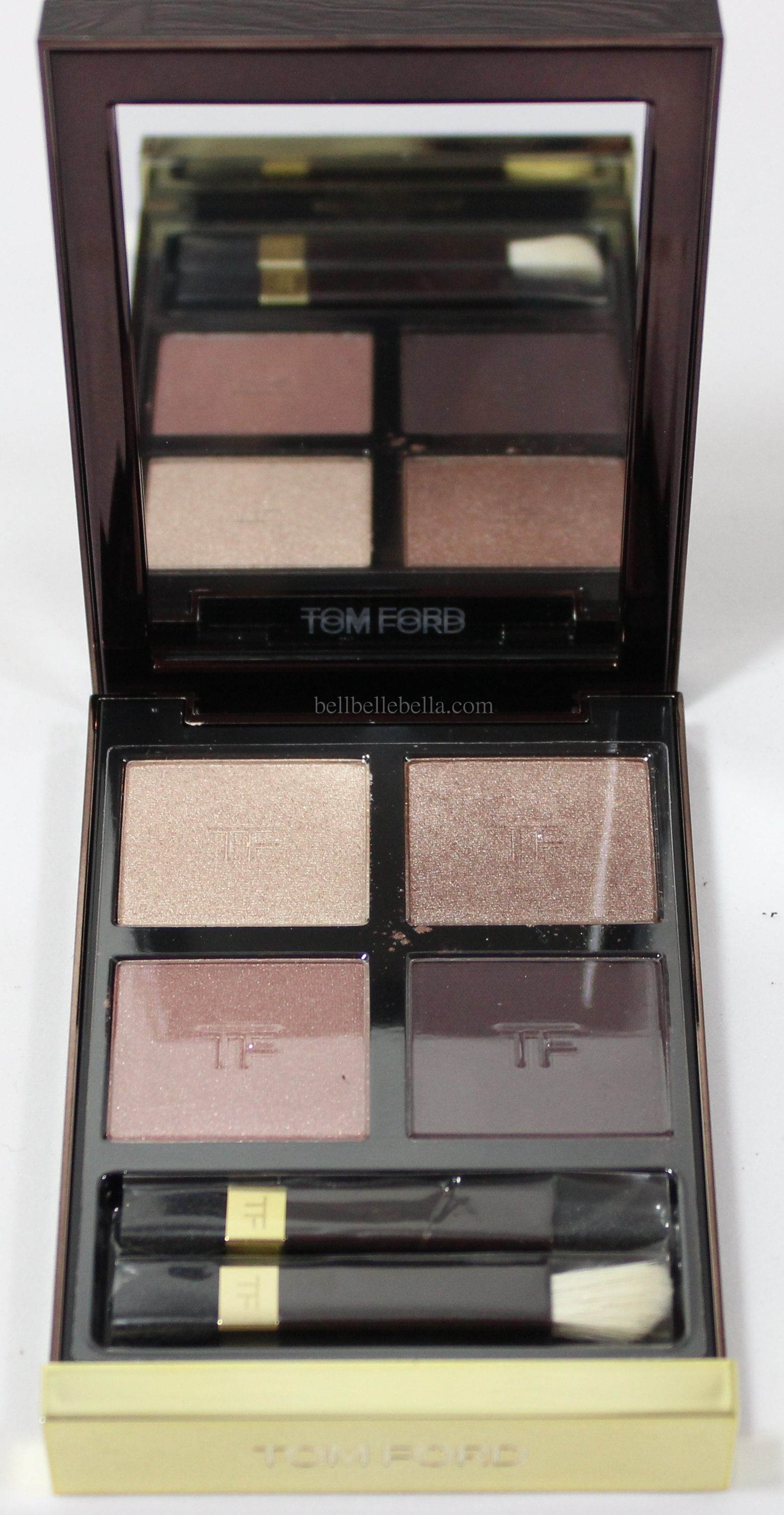 Tom Ford Eye Color Quad in Orchid Haze Review & Swatches graphic