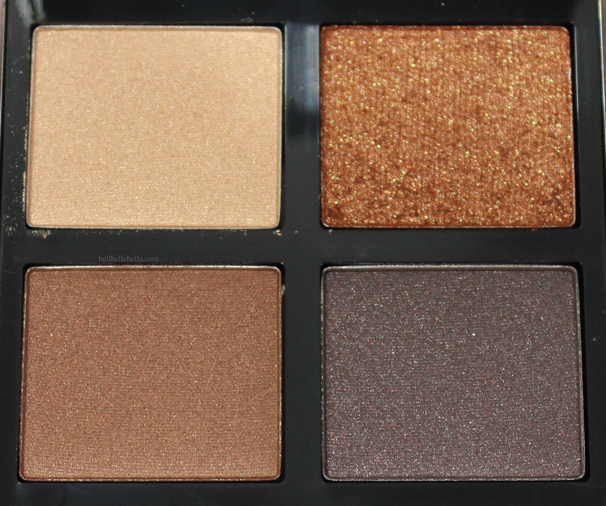 Tom Ford Eye Color Quad in Cognac Sable Review & Swatches graphic