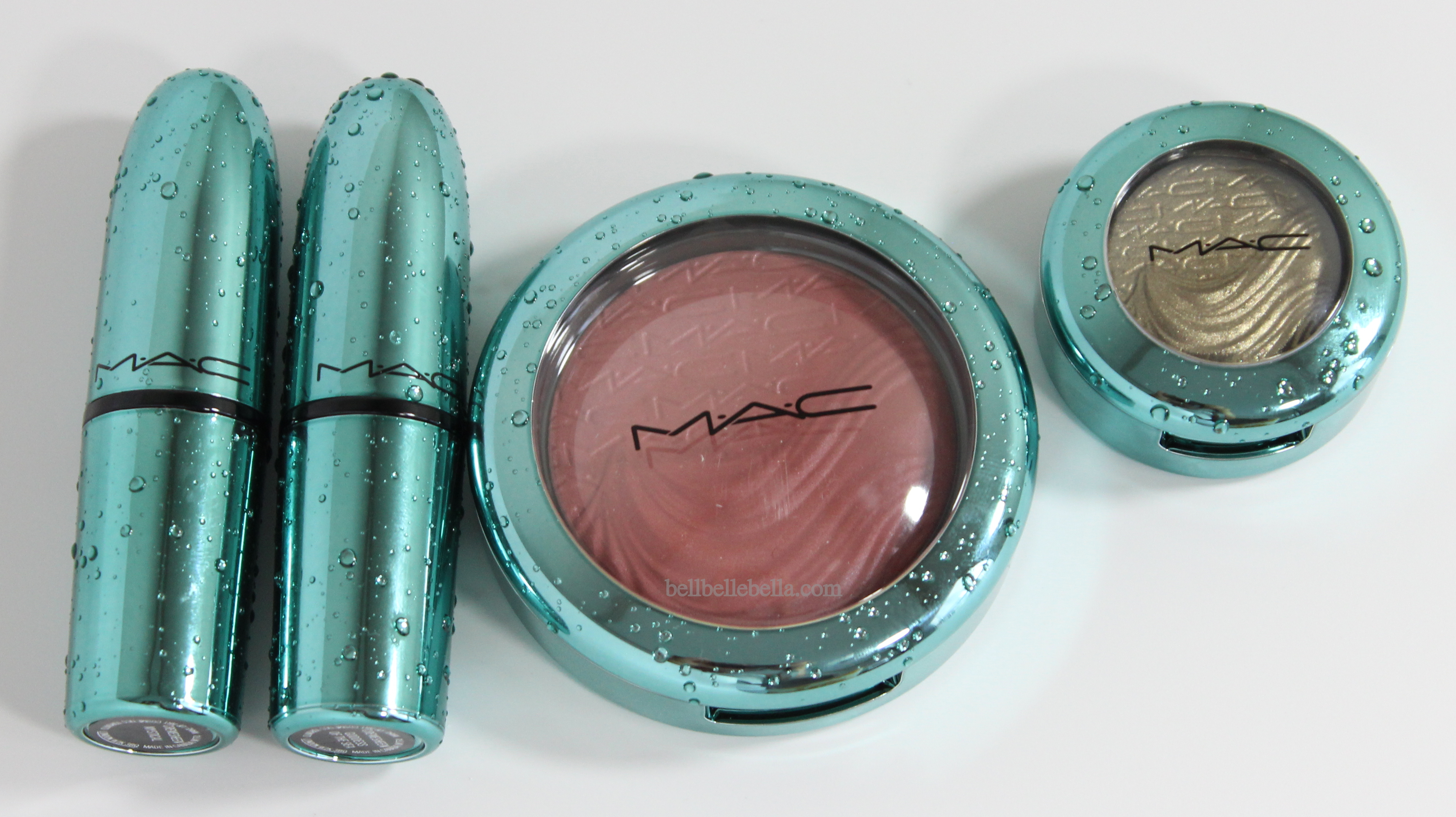 MAC Cosmetics Alluring Aquatic Collection Review graphic