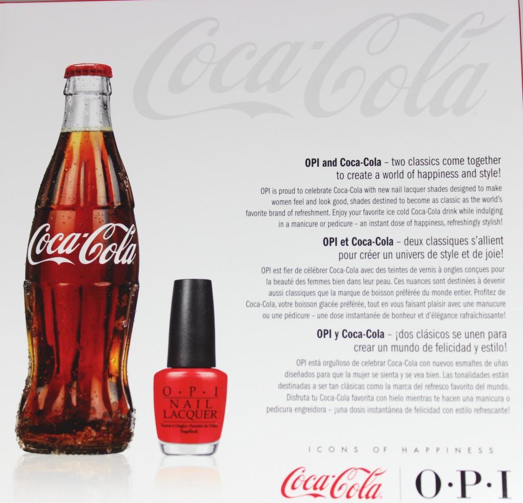 OPI & Coca-Cola Nail Polish