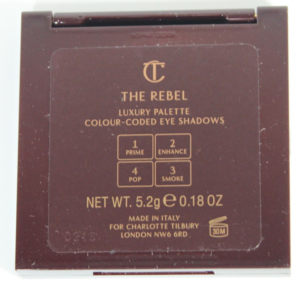 Charlotte Tilbury The Rebel Color-Coded Eyeshadow Palette
