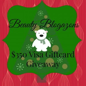 The Beauty Blogazons $350 Visa Giftcard Giveaway!