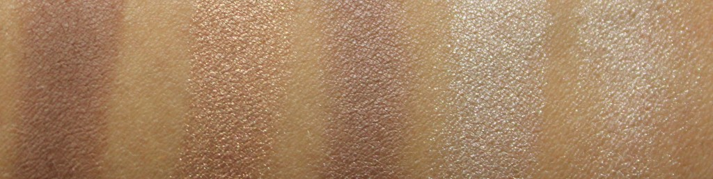 L'Oreal La Palette Nude 1 Swatches