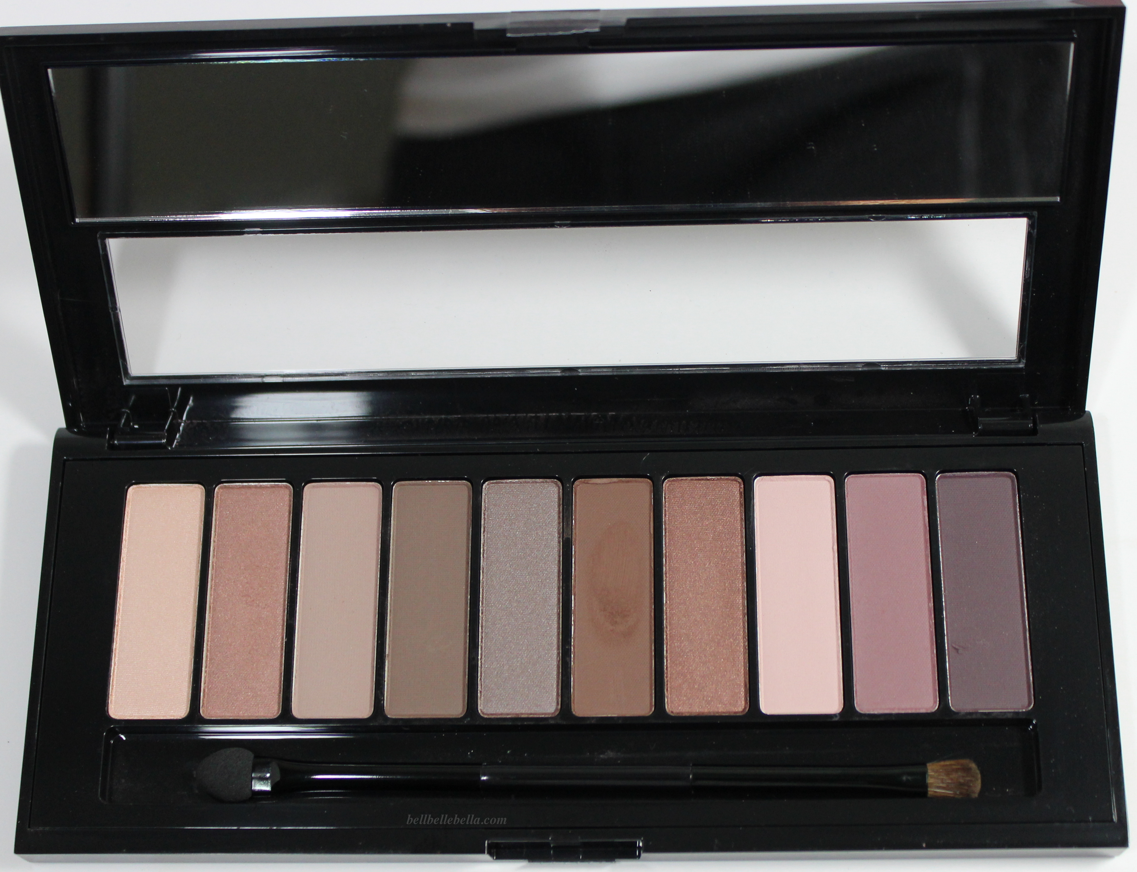 LOreal La Palette Nude 1 and 2 Swatches - BellBelleBella