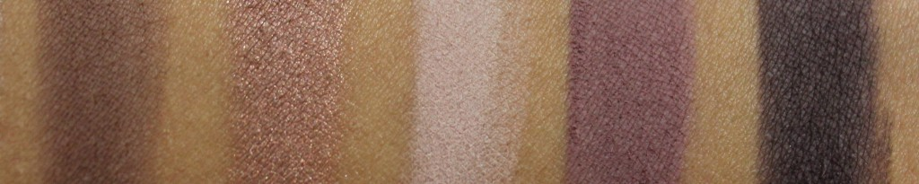 L'Oreal La Palette Nude 2 Swatches